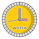 clock, education, school, study, timer, watch icon