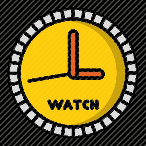 clock, education, school, study, timer, watch icon