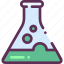 acid, beaker, chemistry icon