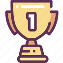 cup, first, place, win, winner icon