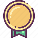 award, medal, win, winner icon