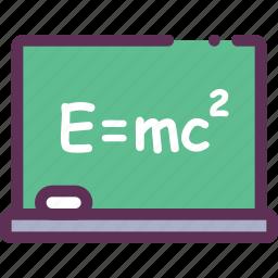 board, educational, study, swept icon