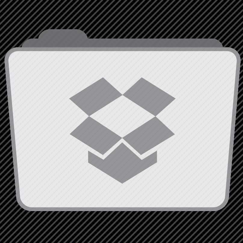 dropbox, network, social, wireless icon