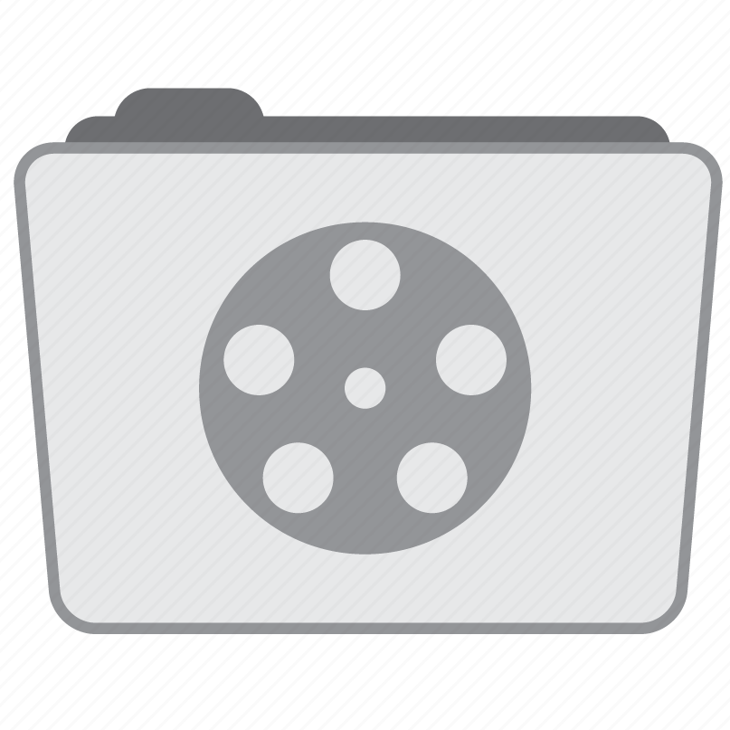 media, movies, player, video icon