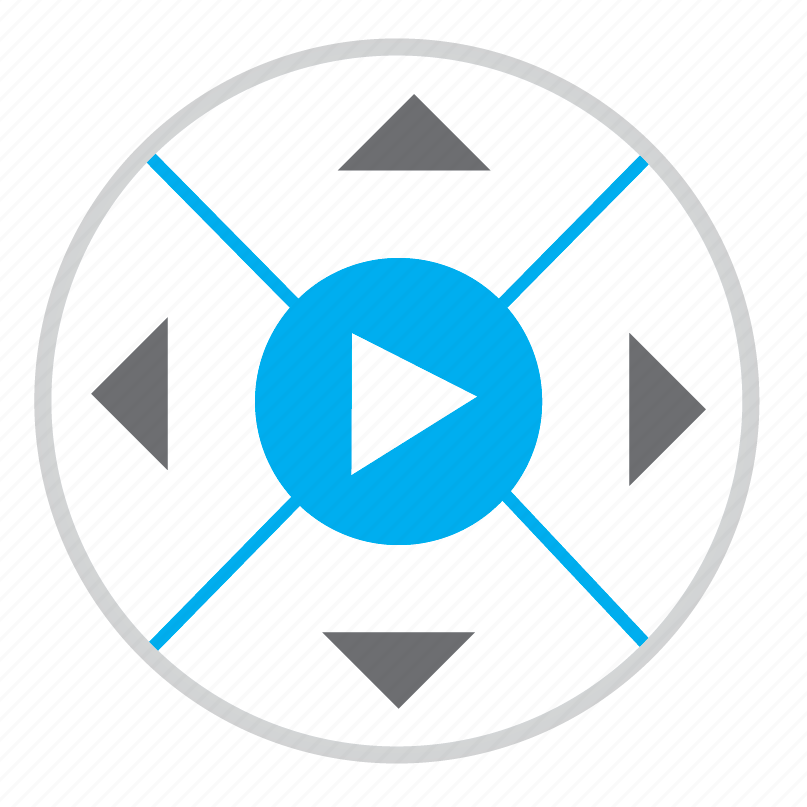 dvd, movies, player icon