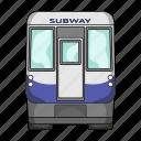 railway, subway, train, transport, transportation, underground, vehicle