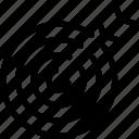 achieve, awards, success, target icon