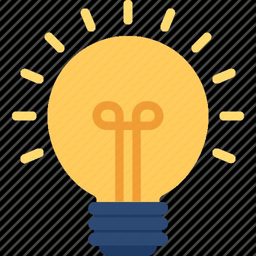 brightness, electric bulb, illumination, light, light bulb icon