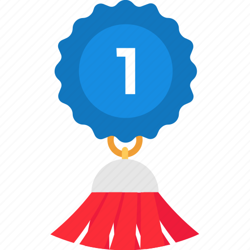 achievement, award badge, first place award, success, top ranking icon