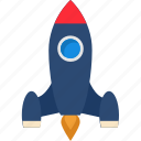 launch, missile, rocket, spaceship, startup