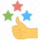 customer feedback, customer rating, feedback, positive interaction, rating evaluation icon