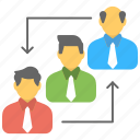 business development, career advancement, career growth, career opportunities, job promotions icon