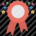 achievement, award badge, honor, quality symbol, reward icon