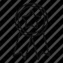 badge, class, customer, emblem, premium, star, top icon