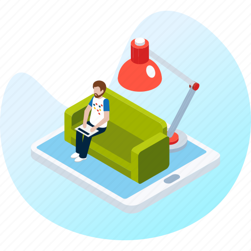 business, freelancer, home, house, marketing, office, work icon