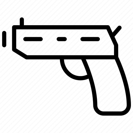 anxiety, depression, died, gun, suicide icon