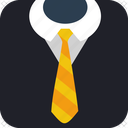 business, gentleman, job, suit, tie5 icon