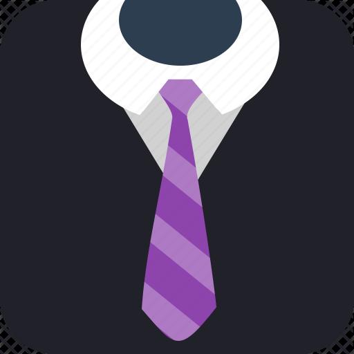 business, gentleman, job, suit, tie2 icon