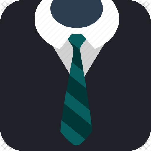 business, gentleman, job, suit, tie3 icon