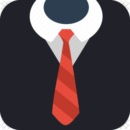 business, gentleman, job, suit, tie4 icon