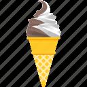 corn, dessert, ice cream, snack, soft serve, summer, vanilla
