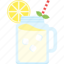 beverage, juice, lemon, lemonade, summer icon