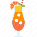alcohol, beach, beverage, cocktail, juice, summer, tropical icon