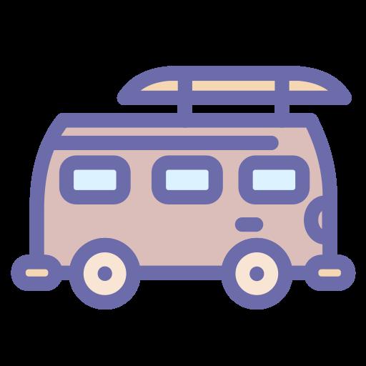 beach, car, transport, travel icon