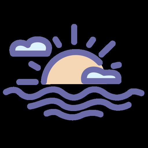 summer, sun, sunny, sunset icon
