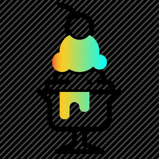Dessert, food, icecream, summer, sweet icon - Download on Iconfinder