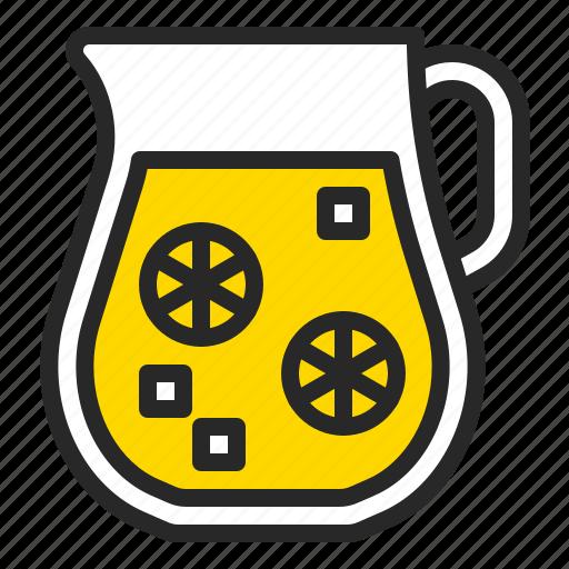 beverage, drink, glass, juice, lemonade, summer icon