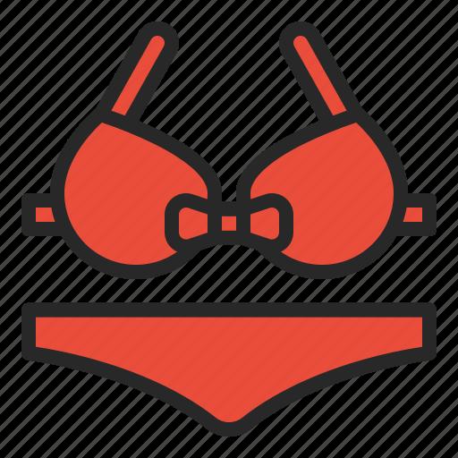 beach, bikini, pool, sea, summer, swimming icon