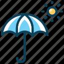 beach, hot, insurance, summer, sun, umbrella icon