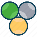 ball, holiday, sports, summer, tennis ball icon