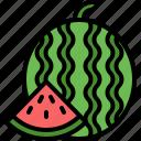 watermelon, fruit, holiday, vacation, summer
