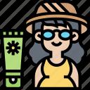 sunblock, cosmetics, protection, skincare, cream