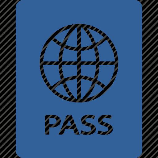 citizen, foreign, identity, national, passport, summer, visa icon