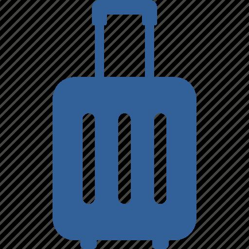 bag, case, luggage, passenger, suitcase, summer, travel icon