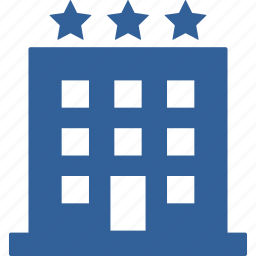 booking, holiday, hotel, motel, room, summer, trip icon