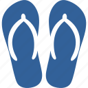 beach, flip, flop, holiday, sandal, slipper, summer icon