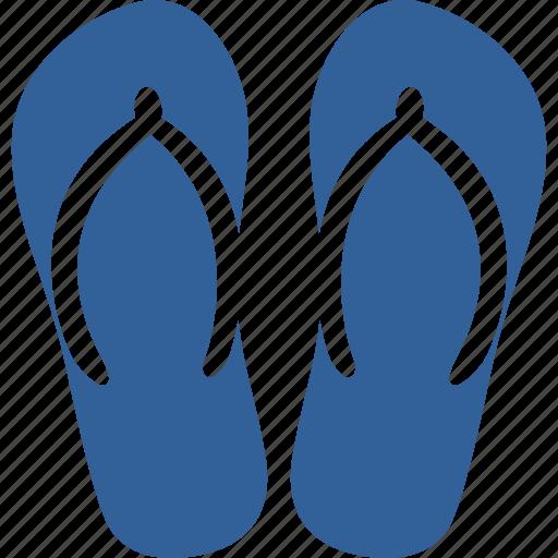 beach, flip, flop, holiday, sandal, slipper, summer icon