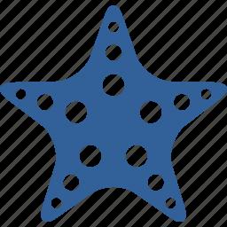aquarium, beach, fish, sea, star, summer icon