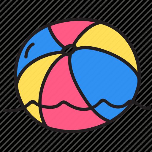 ball, play, sea, summer, swim, water icon
