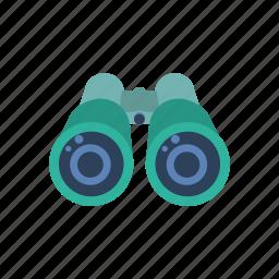 binocular, telescope, travel icon
