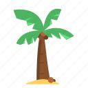 cconut tree, cocnut palm, coco palm, coconut, travel, tree icon