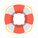 life preserver, lifebuoy, lifeguard, lifesaver, pool safety, travel icon