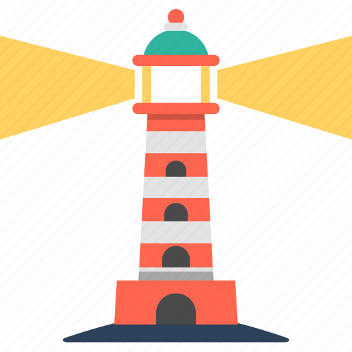 light, light tower, lighthouse, signal, travel, watchtower icon