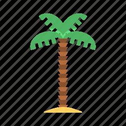 palm, palm tree, travel, tree icon