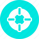drown, protection, save, security icon