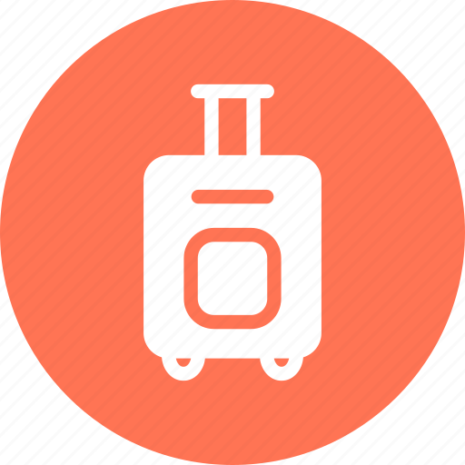airport, luggage, suitcase, travel icon